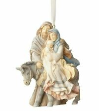 Enesco H7 Foundations Christmas 4in Holy Family Nativity Ornament 4058698
