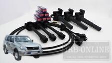 Suits TOYOTA Landcruiser PRADO 5VZ V6 3.4L 96-2003 PLUGS LEADS & COIL PACK KIT