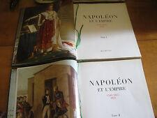 NAPOLEON et l'EMPIRE en 2 volumes, HACHETTE  1968