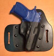 Bersa .380 Leather/kydex hybrid OWB beltslide holster