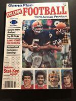1978 College FOOTBALL SYRACUSE Bill HURLEY Alabama RUTLEDGE Notre Dame MONTANA