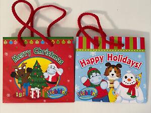 Webkinz GANZ Accessory Christmas Gift Bag 4 1/4 in x 4 1/2 in x 3 in