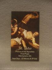 Saint Peter - Four Prayer Cards  Free Shipping