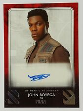 2020 Star Wars Rise of Skywalker Series 2 Autograph John Boyega as Finn Auto /99