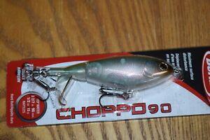 Berkley Choppo 90 Topwater Fishing Lure  (Perfect Ghost) NIP