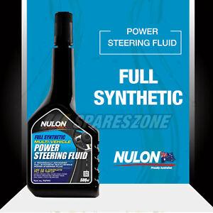 Nulon Full SYN Power Steering Fluid 500ML for HYUNDAI Excel iMax Santa Fe Sonata