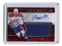 2014-15 SPX Hockey #170 Jiri Sekac Canadiens Autographed Jersey jh5
