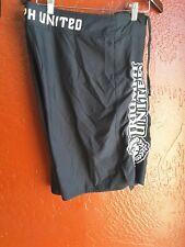 Triumph United Mma Fight Shorts Black Xl size 36