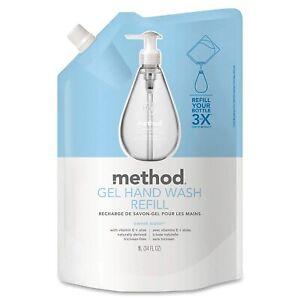Method Gel Hand Soap Refill, Sweet Water, 34 Ounce