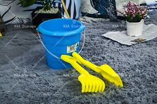 Bulk Buy 10X Kids Beach Bucket Set With Rake and Spade, Australian Made
