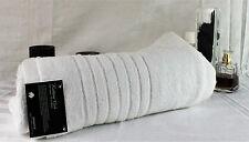 Brand New 6 Bath Towel Set 100% Egyptian Cotton Luxury 630GSM - White