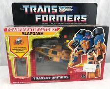 Transformers Original G1 1988 Powermaster Slapdash Complete w/ Box and Bubble