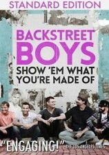 USED (LN) Backstreet Boys - Show 'em What You're Made Of (2016) (DVD)