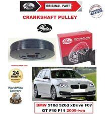 GATES Kurbelwelle Riemenscheibe Für BMW 518d 520d Xd F07 Gt F10 F11 2009- > Auf