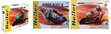 3 Heller 1:12th scale 71263 Motor bike kits Honda, Ducati & Yamaha. One of each