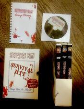 SLEEPAWAY CAMP SURVIVAL KIT DVD 2002 Cult Classic Slasher Horror 4TH BONUS DVD