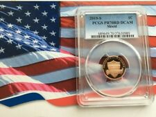 2019 S LINCOLN SHIELD CENT 1C PCGS PR70RD DCAM     PERFECTION