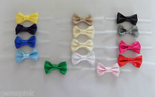 Satin Pre-tied Ribbon BOW TWIST TIE Wedding Baby Shower Mothers day Easter Gift