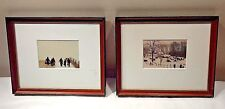 Lot of 2 Bill Coleman Signed and Numbered Amish Photos