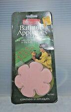 Mid Century Vintage Rubbermaid #7085 Pink Daisy Bathtub No Slip Appliques Nip