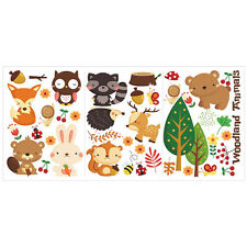 63 * 30cm Forest Animals Kids Room Wall Stickers Mural Removable Vinyl Art Decal