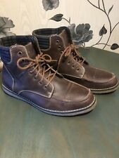 Red Herring Leather Boots UK 9