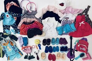Huge Lot Of 18 Inch Doll Clothes shoes Fits American Girl Our Generation My Life