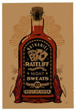 Scrojo Nathaniel Rateliff Belly Up Aspen Colorado 2017 Poster Rateliff_1709