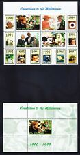 ANGOLA 18 sheets Countdown to Millennium 10 decades - superb unmounted mint