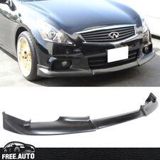 Fit For 10-13 Infiniti G37 4D Sedan Sports OE Style Front Bumper Lip