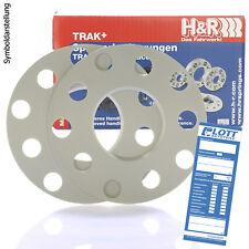 H&R DR Spurplatten Spurverbreiterung Distanzscheibe MZ Ø57,1 4x100 10mm // 2x5mm