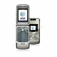 Motorola RAZR V3XX - Silver (AT&T ) GSM Flip Phone