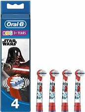 Oral-B Stages Power Star Wars Replacement Heads 4 Pack Open Or Torn Box