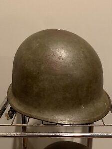 Korean War US M1 Helmet Shell Rear Seam Swivel Bale