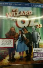 The Wizard of Oz 75th 5-Disc Blu/3D/DVD, Photo Book Set - New  ++FREE SHIPPING++