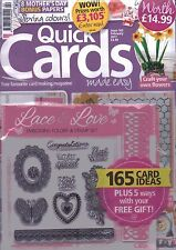Quick Cards made easy Magazine - Issue 162 - February 2017