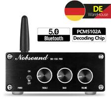 Mini Bluetooth 5.0 Leistungsverstärker mit Netzteil HiFi Stereo Power Amplifier