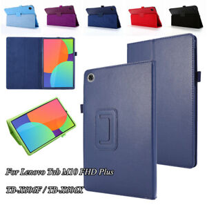 PU Leather Stand Case Cover For Lenovo Tab M10 Plus TB-X606F/X 10.3in Shockproof
