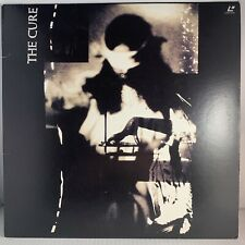 THE CURE Picture Show 1991 LaserDisc Elektra 9 40124-6