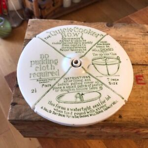 Vintage Grimwade's Quick Cooker Pudding Bowl – Kitchenalia!
