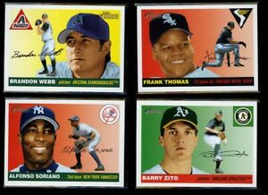2004 Topps Heritage Short Print SP's - Complete Your Set - You Pick