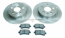 VAUXHALL INSIGNIA 1.8 2.0 CDTi 08-14 REAR 2 BRAKE DISCS & PADS SOLID TYPE CHECK