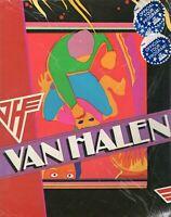 VAN HALEN 1981 FAIR WARNING TOUR CONCERT PROGRAM BOOK-SEALED-NEAR MINT 2 MINT