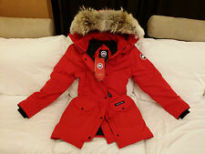 "BRAND NEW ""RED"" (RED LABEL) CANADA GOOSE TRILLIUM LARGE ARCTIC PARKA JACKET"