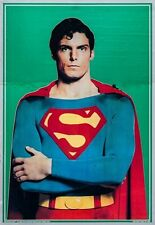 """Movie Poster Superman the Movie 1978 Mylar 21""""x30"""" NM 9.0 Christopher Reeve"""