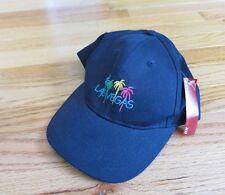 Las Vegas Design Cap, Baseball Hat, Palm Trees, Dark Navy Color