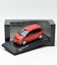 Minichamps 400046000 Opel Meriva OPC Bj.2006 in rot, 1:43 , OVP, K089