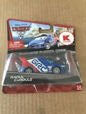 Disney Pixar CARS 2 RAOUL CAROULE Kmart Exclusive Synthetic Rubber Tires WGP