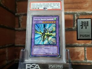 Yu-Gi-Oh! PSA6 1st Asian English Gaia LOB-125