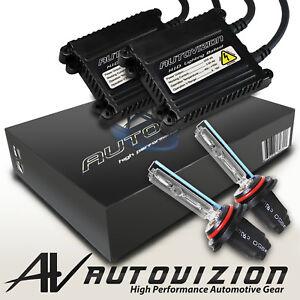 Autovizion Xenon Light 55w HID KIT H4 H7 H11 H13 9003 9005 9006 Hi-Lo Bi-Xenon